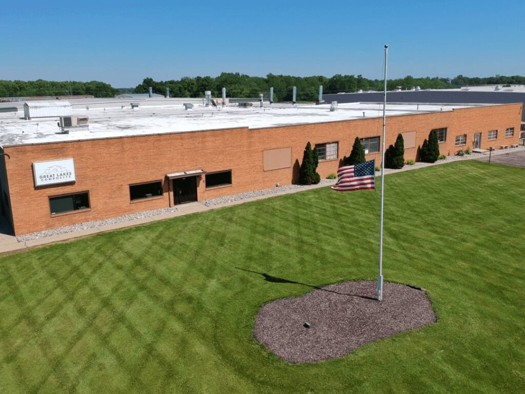Great Lakes Composite Headquarters in Owosso, Michigan