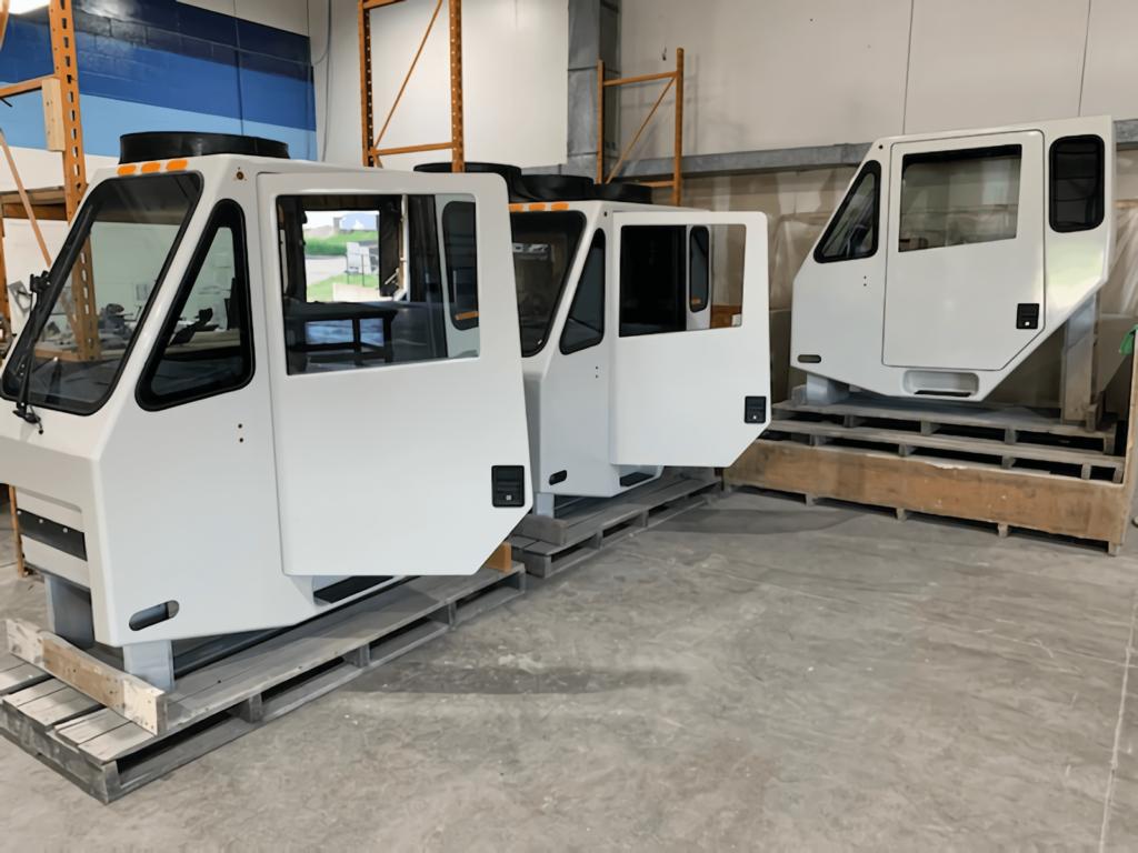 Sunrise Fiberglass Crane Cabs
