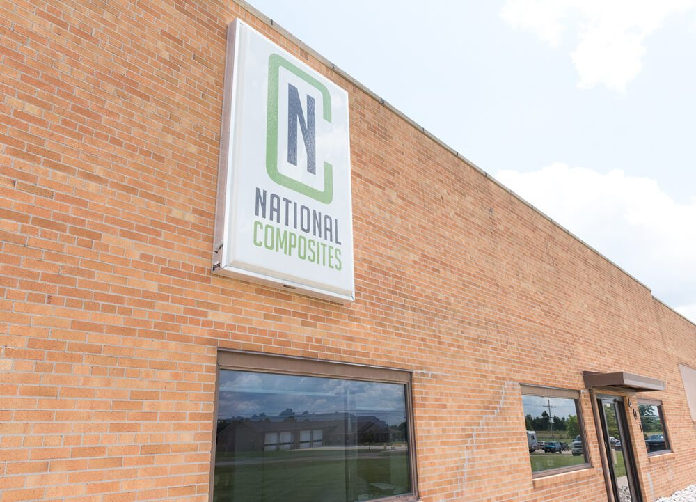 National Composites Office Exterior