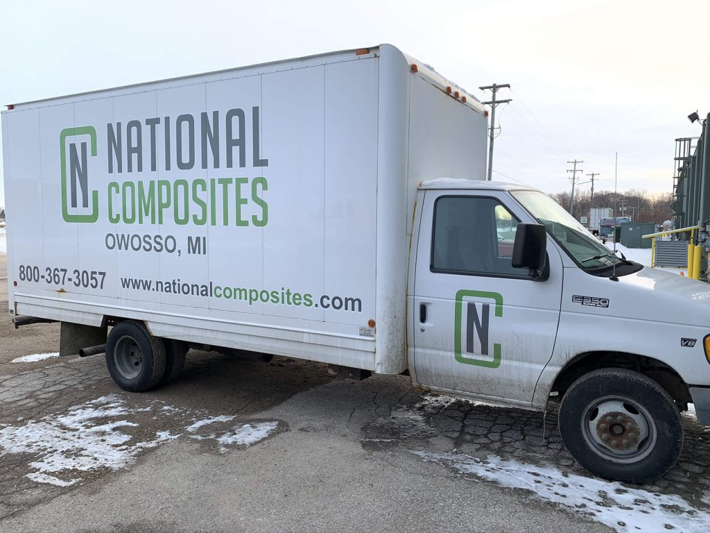 National Composites Delivery Truck