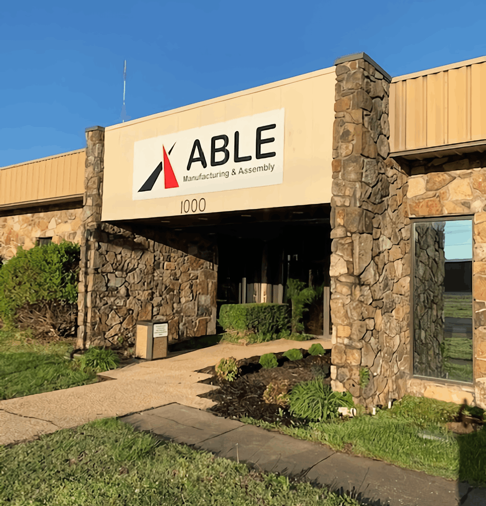 Able Manufacturing Exterior